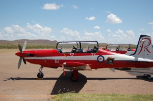 RAAF PC9 - Halls Creek Airport - Aerodrome Management Services Australia